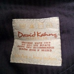 David Kahn Jeans - David Kahn Jeans Boot Cut Flap Pocket Blue Denim